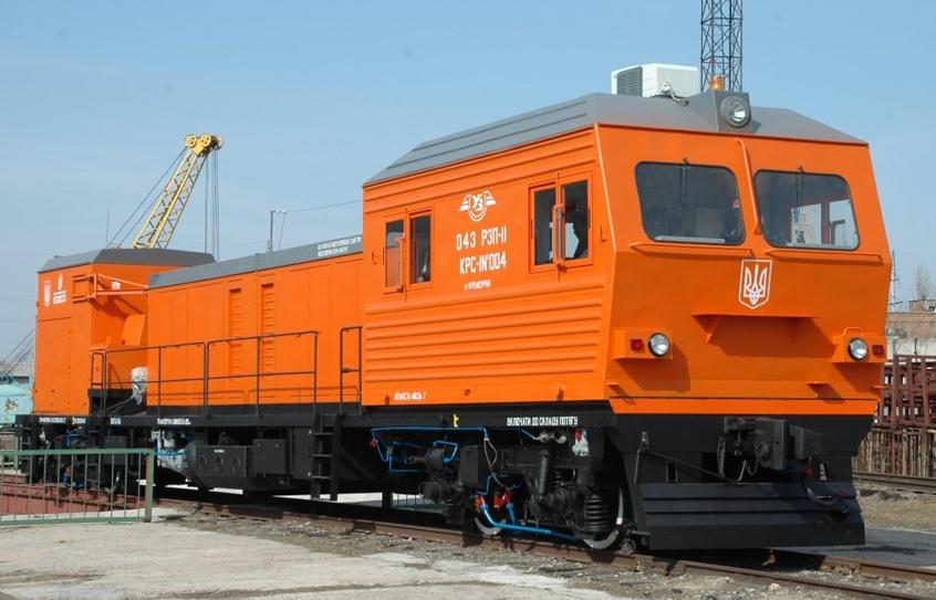 КРС-1 Self-propelled rail welding machine