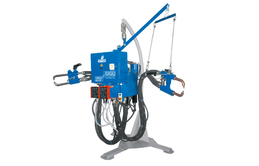 Machines for resistance seam and spot welding