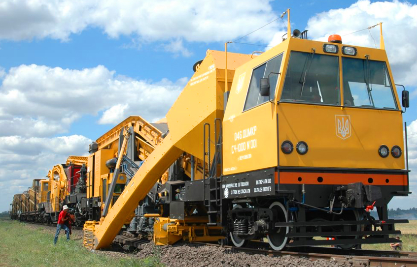 СЧ-1000 Self-propelled ballast cleaning machine