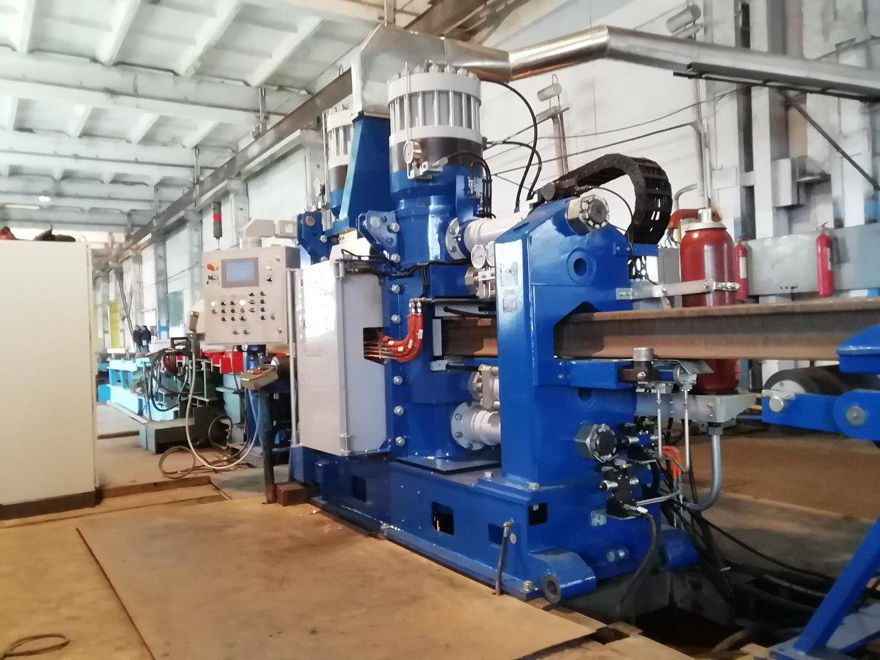 New Rail Welding Machine For Kazakhstan Temir Zholy