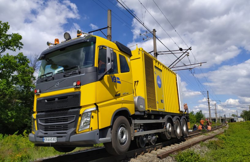 КСМ007 Mobile Rail Welding Complex
